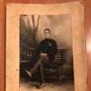 Militaria: FOTOGRAFÍA GRECIA.J RUIZ Y C TETUAN.MILITAR 1923. Lote 159864009