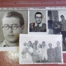 Militaria: LOTE DE FOTOS OFICIAL PROVISIONAL, DE 1938 A 1943. GUERRA Y POSGUERRA, TENIENTE.. Lote 160190238
