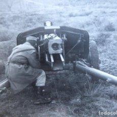 Militaria: FOTOGRAFÍA SOLDADO ARTILLERO DEL EJÉRCITO ESPAÑOL.. Lote 160413546
