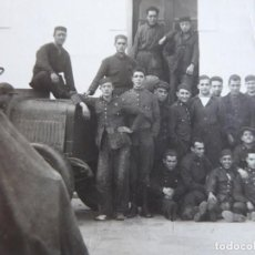 Militaria: FOTOGRAFÍA SOLDADOS INGENIEROS DEL EJÉRCITO ESPAÑOL.. Lote 160415402
