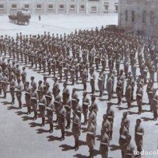 Militaria: FOTOGRAFÍA JURA DE BANDERA. ACADEMIA GENERAL MILITAR ZARAGOZA 1929. Lote 160416054