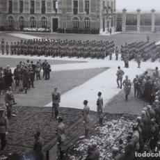 Militaria: FOTOGRAFÍA JURA DE BANDERA. ACADEMIA GENERAL MILITAR ZARAGOZA 1929. Lote 160416426