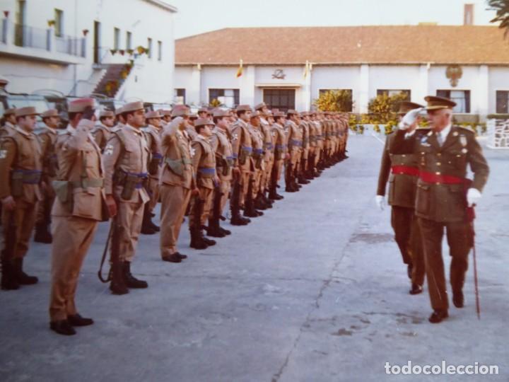 FOTOGRAFÍA TENIENTE GENERAL DEL EJÉRCITO ESPAÑOL. MEDALLA MÉRITO MILITAR INDIVIDUAL 1972 (Militar - Fotografía Militar - Otros)