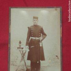Militaria: FOTO SOLDADO ARTILLERIA CEUTA. Lote 160591456