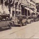 Militaria: COLA TAXIS FAI CALLES BARCELONA TRAS LEVANTAMIENTO 18 JULIO 1936 GUERRA CIVIL MILICIANOS. Lote 160604670