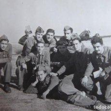 Militaria: FOTOGRAFÍA SOLDADOS AVIACIÓN. JUNKERS-52. Lote 160624402