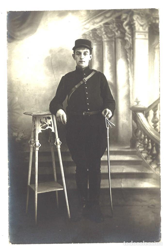 MILITAR FRANCÉS (Militar - Fotografía Militar - I Guerra Mundial)