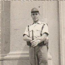 Militaria: FOTOGRAFIA MILITAR DEL EJERCITO DEL AIRE ESPAÑOL CUARTEL DE GANDO? LAS PALMAS -C-36. Lote 160840886