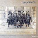 Militaria: GRUPO DE AUTORIDADES MILITARES FRENTE AL GRAN CAFÉ RESTAURANTE TIBIDABO. BARCELONA. AÑO 1910. Lote 160868154