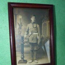 Militaria: FOTOGRAFÍA DE ESTUDIO MILITAR FOTO 12 REGIMIENTO ARTILLERIA MARRUECOS MELILLA ALFONSO XIII AÑOS 20. Lote 160876210