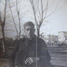 Militaria: FOTOGRAFÍA SOLDADO DEL EJÉRCITO POPULAR DE LA REPÚBLICA. VALENCIA 1937. Lote 161016074