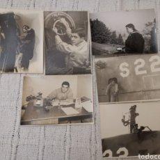 Militaria: LOTE 6 FOTOS(AÑOS 60)MARINERO SUBMARINO S-22 ARMADA ESPAÑOLA. Lote 161248368