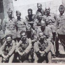 Militaria: FOTO CHOLIZ ZARAGOZA, SOLDADOS NACIONALES, GUERRA CIVIL.ORIGINAL Y DE LA ÉPOCA.. Lote 177310792