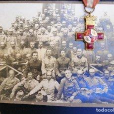 Militaria: BATALLON O REGIMIENTO 28 - FOTO SOBRE CARTÓN GUERRA MUNDIAL - A DETERMINAR PAIS.? FRANCIA..ALEMANIA?. Lote 173516150