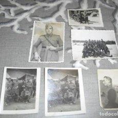 Militaria: LOTE FOTOS MILITARES DIFERENTES EPOCAS. Lote 161933818