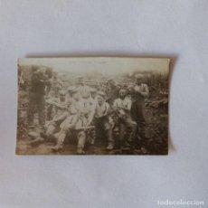 Militaria: SOLDADOS ALEMANES. PRIMERA GUERRA MUNDIAL, FOTOGRAFÍA ORIGINAL.. Lote 162288150