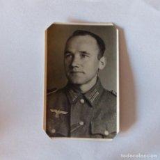 Militaria: SOLDADO ALEMAN. SEGUNDA GUERRA MUNDIAL, FOTOGRAFÍA ORIGINAL. 1939 - 1945. Lote 162288866