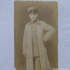 Militaria: SOLDADO ALEMAN. PRIMERA GUERRA MUNDIAL, FOTOGRAFÍA ORIGINAL. 1914 - 1918. Lote 162321454