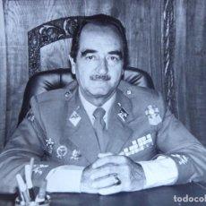 Militaria: FOTOGRAFÍA GENERAL DE DIVISIÓN DEL EJÉRCITO ESPAÑOL. MELILLA 1984. Lote 162497122