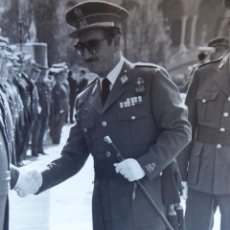 Militaria: FOTOGRAFÍA TENIENTE GENERAL DE DIVISIÓN DEL EJÉRCITO ESPAÑOL. MELILLA. Lote 162498210