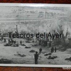Militaria: FOTOGRAFIA DE CAMPUA, CAMPO DE PRISIONESROS ROJOS, CAMPO DE CONCENTRACION DE BOURG MADAME, FRANCIA, . Lote 162678370