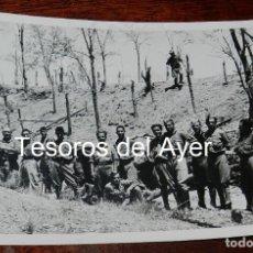 Militaria: FOTOGRAFIA DE CAMPUA, EJERCITO NACIONAL EN EL FRENTE DE MADRID, PLENA GUERRA CIVIL, MIDE 18 X 13 CMS. Lote 162686578