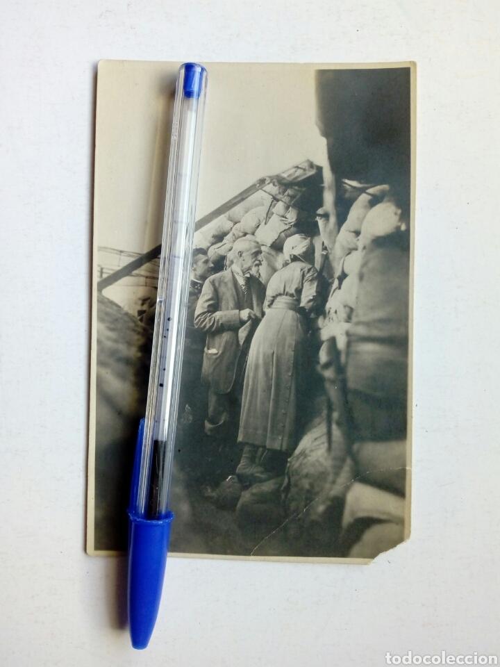 I GUERRA MUNDIAL - FOTOGRAFÍA TOMADA EN LAS TRINCHERAS AUSTRIACAS, JUNIO 1915 - LEER DESCRIPCION (Militar - Fotografía Militar - I Guerra Mundial)