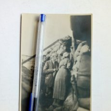 Militaria: I GUERRA MUNDIAL - FOTOPOSTAL - TRINCHERAS AUSTRIACAS, JUNIO 1915 - LEER DESCRIPCION. Lote 163550850