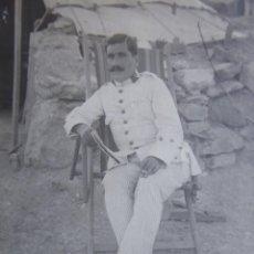Militaria: FOTOGRAFÍA CAPITÁN DEL EJÉRCITO ESPAÑOL. 1912. Lote 163609154
