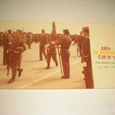 Militaria: JURA DE BANDERA C.I.R. Nº 1 . COLMENAR VIEJO 13-6-1976. Lote 164471978