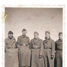 Militaria: RABÉ DE LAS CALZADAS (BURGOS) - GRUPO DE SOLDADOS ALEMANES NAZIS - FECHADO 1937 - ORIGINAL. Lote 164621022