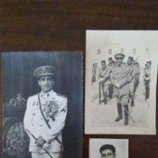 Militaria: 3 FOTOGRAFÍAS TENIENTE JULIO RUIZ. DEDICADAS MANUSCRITAS AL DORSO. TETUÁN. VER CONDECORACIONES.. Lote 164718150