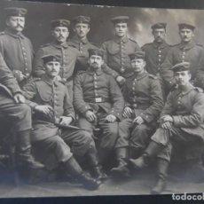 Militaria: GRUPPE DE SOLDADOS IMPERIALES ALEMANES EN ESTUDIO. II REICH. AÑOS 1914-18. Lote 164736830
