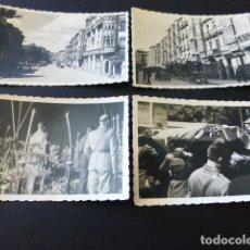 Militaria: VITORIA 1936 5 FOTOGRAFIAS GUERRA CIVIL POR SOLDADO LEGION CONDOR 2 DE VICTIMAS AVION ACCIDENTADO. Lote 164763590