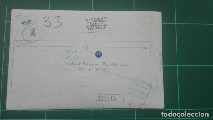 Militaria: Aviación. Accidente Heinkel 5-66 - Foto 2 - 164871634