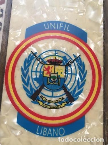 CAJA TABAQUERA UNIFIL LÍBANO MILITAR (Militar - Fotografía Militar - Otros)