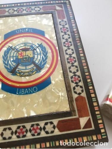 Militaria: Caja tabaquera Unifil Líbano Militar - Foto 7 - 164917514
