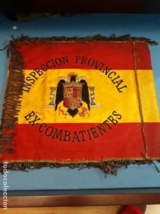 Militaria: GUION DE LA DIVISION AZUL DE LA INSPECCION PROVINCIAL DE COMBATIENTES - Foto 6 - 165319942