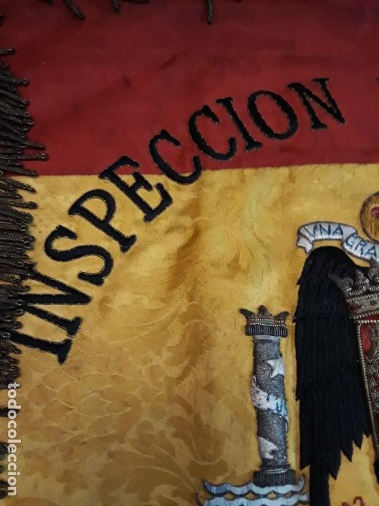 Militaria: GUION DE LA DIVISION AZUL DE LA INSPECCION PROVINCIAL DE COMBATIENTES - Foto 7 - 165319942