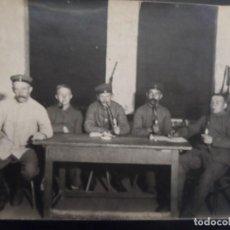 Militaria: SOLDADOS IMPERIALES ALEMANES FUMANDO EN PIPAS DE PORCELANA. II REICH. AÑOS 1914-18. Lote 165395630