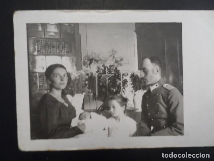 OFICIAL IMPERIAL ALEMAN CON FAMILIA EN BAUTIZO. II REICH. AÑOS 1914-18 (Militar - Fotografía Militar - I Guerra Mundial)