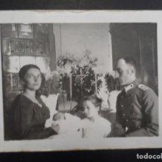Militaria: OFICIAL IMPERIAL ALEMAN CON FAMILIA EN BAUTIZO. II REICH. AÑOS 1914-18. Lote 165476046