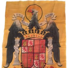 Militaria: BANDERA ESPAÑA ANTIGUO RÉGIMEN AÑOS 40 POSIBLE PROCEDENCIA MILITAR 60 X 90 CM. Lote 165495774