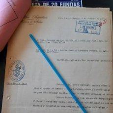 Militaria: WW2. ACORAZADO GRAF SPEE. VISITAS A INTERNADOS POR BUENA CONDUCTA. Lote 165751418