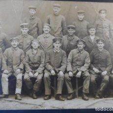 Militaria: GRUPPE DE SOLDADOS IMPERIALES ALEMANES POSANDO EN ESTUDIO. II REICH. AÑOS 1914-18. Lote 165760498