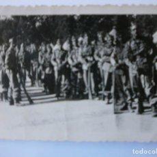 Militaria: FOTOGRAFIA SOLDADOS 1939 DE 9CMS POR 6 CMS.. Lote 165763530