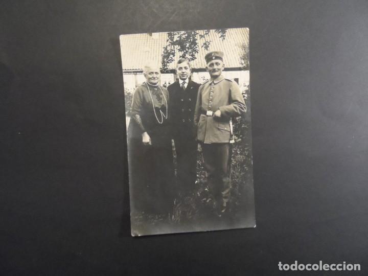 Militaria: SOLDADO IMPERIAL CON SU FAMILIA. II REICH. AÑOS 1914-18 - Foto 2 - 165764446
