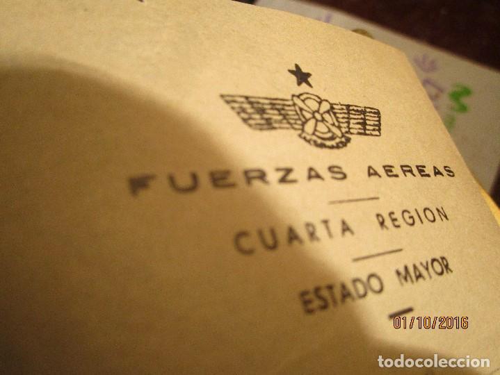 Militaria: PILOTO DE AVIACION FUERZAS AEREAS EN GUERRA CIVIL ESPAÑA TENIENTE INCORPORACION 1939 EN VALENCIA - Foto 3 - 173191052