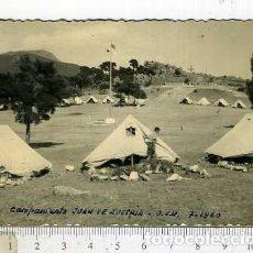Militaria: FOTOGRAFÍA CAMPAMENTO JUAN DE AUSTRIA O.J.E FRENTE DE JUVENTUDES . Lote 165817334
