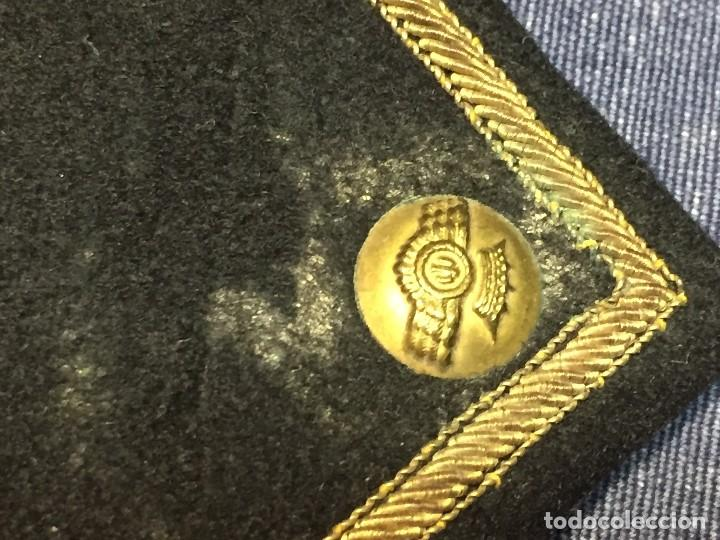 Militaria: hombreras tres estrellas capitan aviación en hilo de oro fieltro franco guerra civil españa s xx - Foto 21 - 166245310
